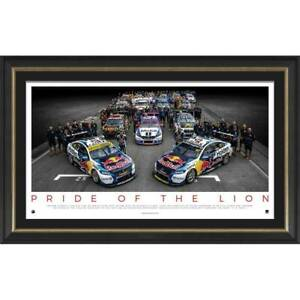 Holden Pride of the Lions Official Legacy Print Framed - 4336 V8 Supercars