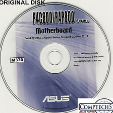 ASUS GENUINE VINTAGE ORIGINAL DISK FOR P4C800 DELX & P4C800-E DELUXE Disk M370