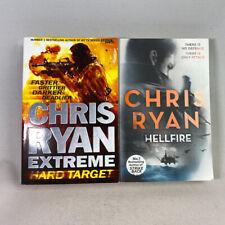 2 Chris Ryan Paperback Books Bundle Hellfire & Extreme Hardtarget