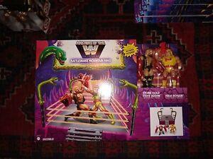 Masters Of The WWE Universe Rattlesnake Mountain Ring Stone Cold Hulk Hogan MISB
