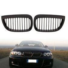 CALANDRE BMW SERIE 1 E87 5 PORTES 2004-2011 116i 118d 118i NOIRE HARICOT GRILLES
