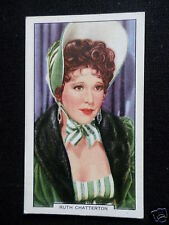 """"""" MY FAVOURITE PART """"  FILM STAR- RUTH CHATTERTON - GALLAHER CARD-1939 -#42"""