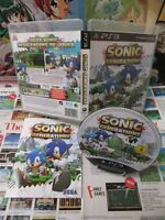 Playstation 3 PS3:Sonic Generations [TOP SEGA & 1ERE EDITION] Fr