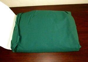 Dillards Nobility Emerald Green Queen Ruffled Bedskirt, Split Corner - NEW