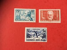 Lot de 3 timbres neufs ** 1936/1937   Lot 22