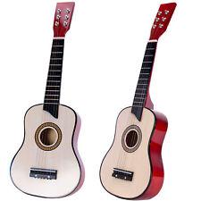 Gitarre für Kinder, natur, Kindergitarre aus Holz Akustikgitarre Musikinstrument