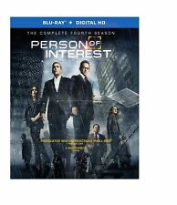 PERSON OF INTEREST - COMPLETE SEASON 4  -  Blu Ray - Sealed Region free