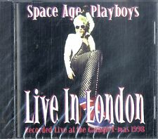 SPACE AGE PLAYBOYS Live in London CD NEW SEALED