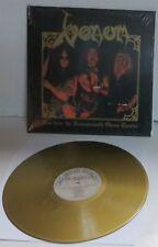 Venom Live from the Hammersmith Odeon Theatre GOLD Vinyl LP Record new reissue