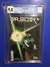 Far Sector #1 CGC 9.8 1st Sojourner Mullein Green Lantern Variant DC Comics 2020