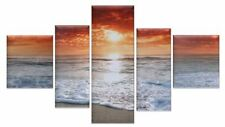 Unbranded Canvas Sunset Decorative Posters & Prints