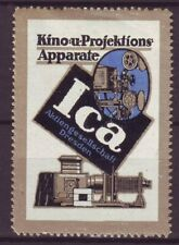 s5052/ Germany Poster Stamp Label # ICA Kino Film Movie Screener Photography