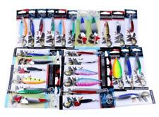 Fishing Lures Metal Spinner Baits Crankbait Assorted Fish Tackle B