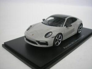 Porsche 992 Carrera 4S 4 S 2019 Gray 1/43 spark S7837 New