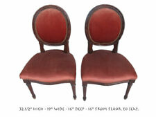 Pair of Antique French Louis Xvi Style Chairs # 10899
