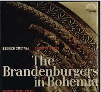 Smetana: The Brandenburgers IN Böhmen / Jan Hus Tichy, Prague N. O. LP NM/Ex