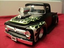 "Jada 1956 Ford F-100 ""Blower""  truck new no box 1/24 scale black primer exterior"