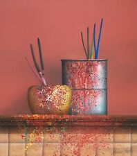 "Carter ""Paint Cans"" Acrylic on canvas Art"