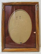 ancien cadre porte photo epoque 1925 medaillon