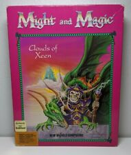 Vtg 1992 Might and Magic IV Clouds of Xeen IBM/PC/DOS New World Computing RPG