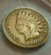 1906 encased one cent penny