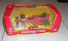 Auto FERRARI F300 1998 NUOVA BBURAGO Scala 1/24 6503 in Box Formula 1 Quality