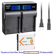 Kastar Battery LCD Rapid Charger for Sony NP-BN1 NPBN1 Sony Cyber-shot DSC-W630