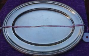 CHRISTOFLE PERLE OVAL TRAY