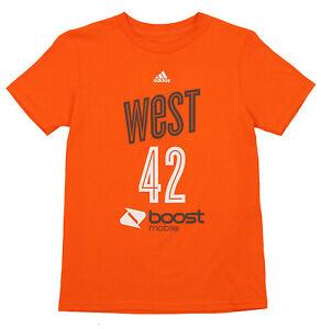 Adidas WNBA Youth Phoenix Mercury Brittney Griner #42 Player's Tee, Orange