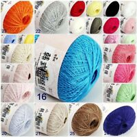 AIP Thread No8 Cotton Crochet Thread Yarn Craft Tatting Knit Embroidery 50g/400y