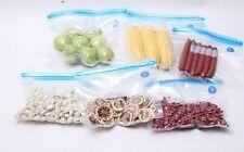 lotto set di 10 sacco per pacchetto al sottovuoto vacuum alimenti set