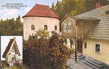 AK Riesengebirge St. Annakapelle mit Forsthaus Schlesien Postkarte vor 1945