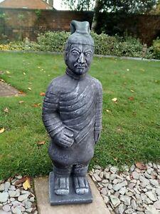 Terracotta Warrior Stone Garden Ornament.