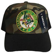 CAÑEROS DE LOS MOCHIS HAT CAMO BROWN BLACK GREEN KHAKI SNAP BACK NEW HAT