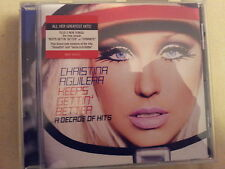 AGUILERA CHRISTINA - KEEPS GETTIN' BETTER. CD
