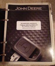 John Deere remolcador 5310n 5410n 5510n werkstatthandb.