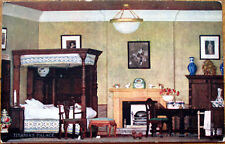 1910 Raphel Tuck Postcard: Titania's Palace - Oberon's Dressing Room, Dollhouse