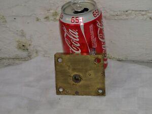 RECLAIMED VICTORIAN BRASS & METAL CUPBOARD CABINET DOOR LATCH LOCK