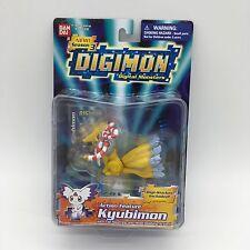 "Digimon Figure 2001 Kyubimon Action Feature  Bandai 3"" #13230"