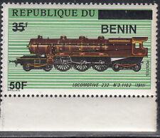 Benin MNH RARE Overprint Sc 1395  Value $ 75,oo US