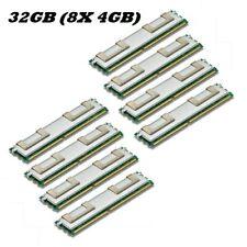 8x 4GB 32GB RAM Apple Mac Pro 1,1 2,1 MA356D/A MA356LL/A DDR2 667 Mhz FB DIMM