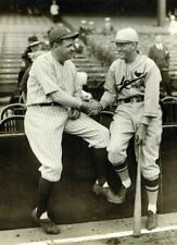 """Babe Ruth & Rogers Hornsby- 8"""" x 10"""" Photo - Yankees Stadium - 1926 World Series"""