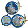 Disney Pin 67250 New Year's Eve Day Tinker Bell Sleeping Beauty Castle LE 1000
