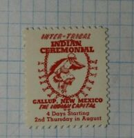 Inter Tribal Indian Ceremonial Gallup NM Native Dance Company Brand Ad Poster
