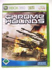 XBOX 360 - CHROME HOUNDS! BRAND NEW/SEALED! GERMANY VER. DEUTSCH NEU!