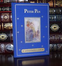 Peter Pan by J.M. Barrie Illustrated Hudson New Ribbon Deluxe Gift Hardcover