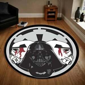 Star Wars Darth Vader Rugs-Premium Round Rug