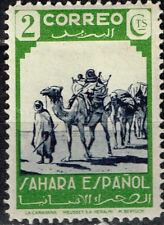Spanish Sahara Desert Camals' Caravan stamp 1926 MLH