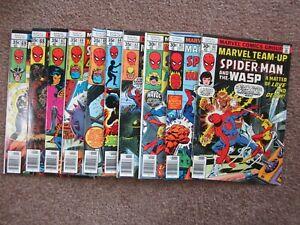 NICE ! Lot of 10 Marvel Team-Up Spider-Man 60 - 69 comic book >CGC ready!