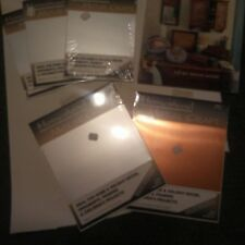 5 Homestead Metal Craft sheets Tooling Punch Sheets plus craft booklet